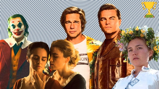 Ein paar unserer Highlights des tollen Kinojahrgangs 2019: «Joker», «Midsommar», «Once Upon a Time in Hollywood».