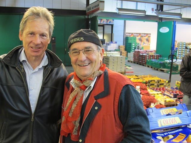 Michael Raduner mit Santino Micaglio.