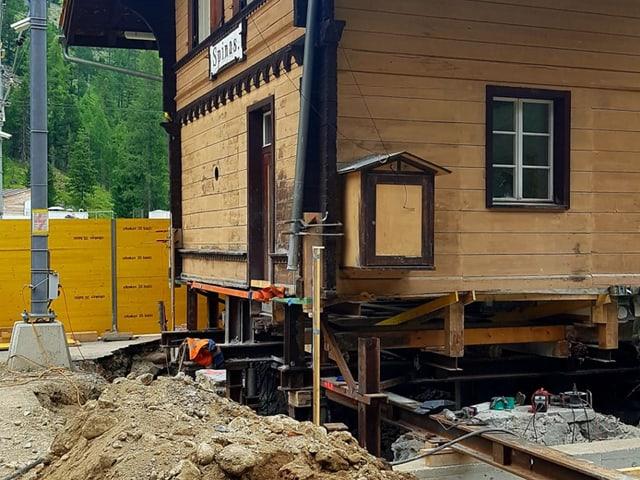 Baustelle Frontal