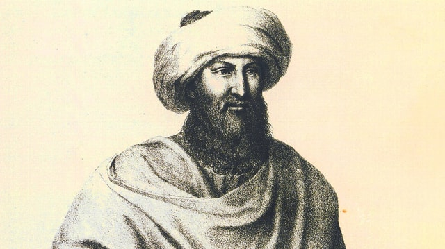 Johann Ludwig Burckhardt alias Scheich Ibrahim ibn Abdallah.