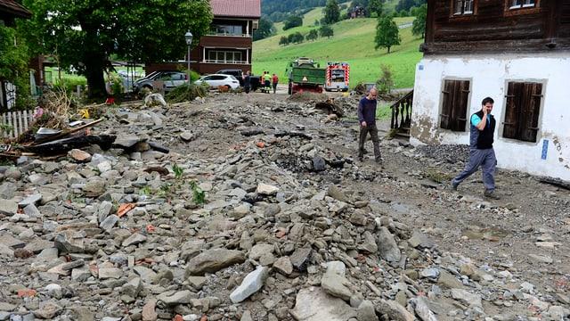 Beim Unwetter im Sommer 2015 richtete der Götzentalbach grosse Schäden an.
