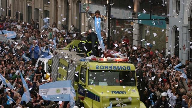 Del Potro nach seinem US-Open-Sieg 2009.
