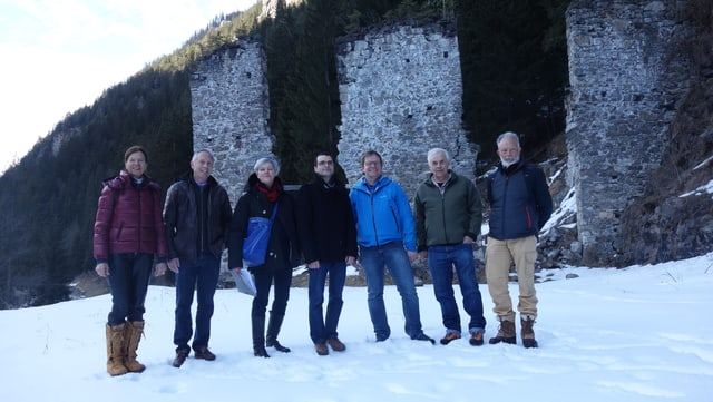 Da san: Elsbeth Rehm, Felix Schutz, Gabi Güntert, Simon Berger, Dieter Müller, Hans Stäbler, Jann Rehm.