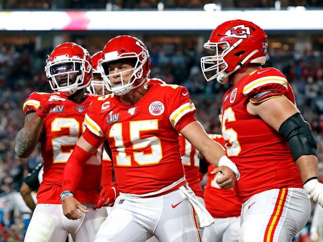 Späte Wende in Miami - Mahomes führt die Chiefs zum Super-Bowl-Triumph