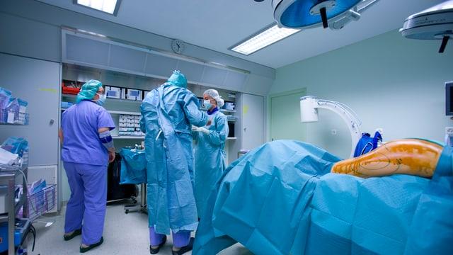 Fettabsaugen in einer Zürcher Klinik.