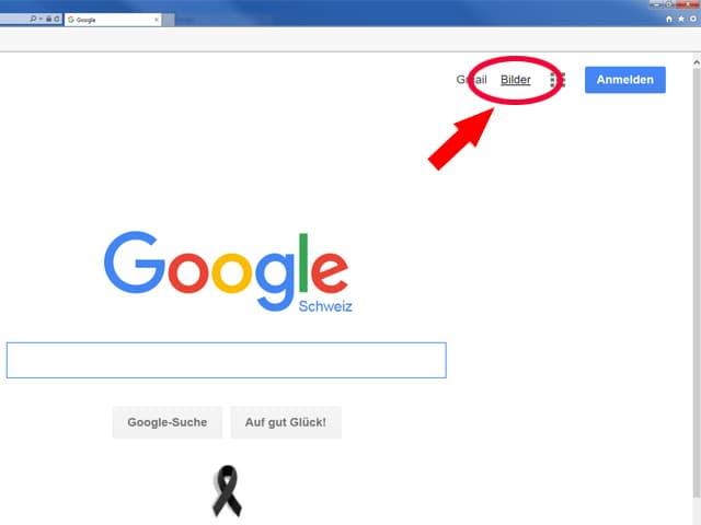 Screenshot Google.
