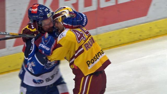 Seger und Rubin im Fight