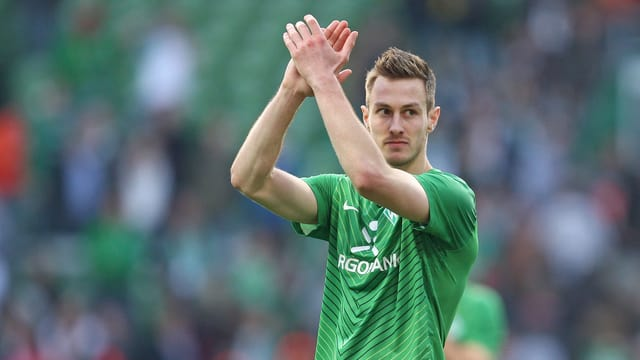 François Affolter kam in dieser Saison für Bremen nicht zum Einsatz.