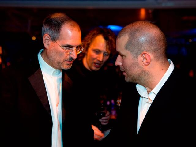 Steve Jobs und Jony Ive