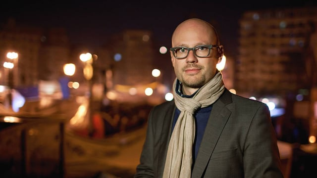 Porträt SRF-Korrespondent Pascal Weber