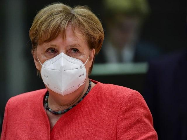 Deutsche Bundeskanzlerin Angela Merkel.