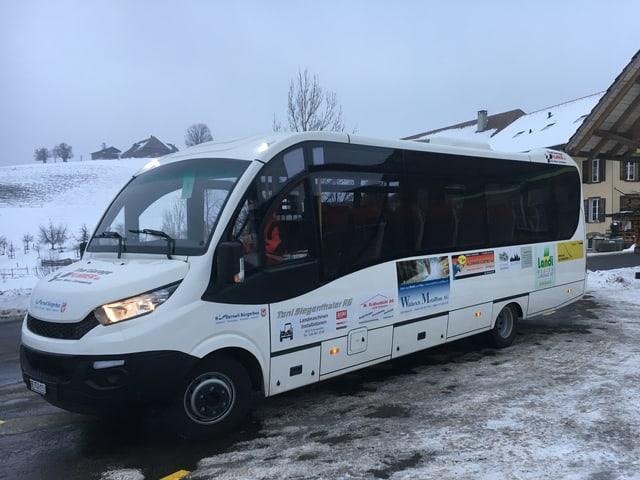Der Bürgerbus von Rüderswil.