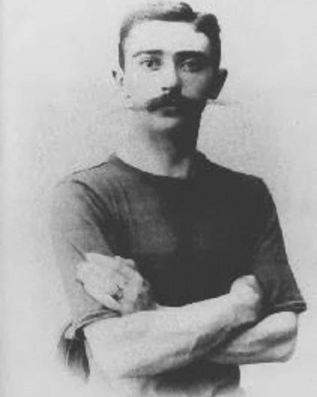 Pierre de Coubertin - l'iniziant dals gieus olimpics dal temp modern.
