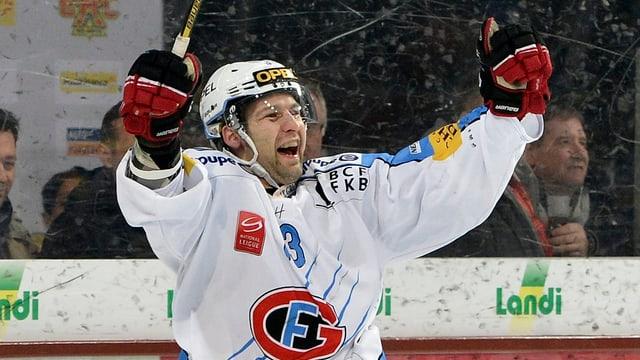 Benjamin Plüss und der HC Fribourg-Gottéron haben einen Lauf.