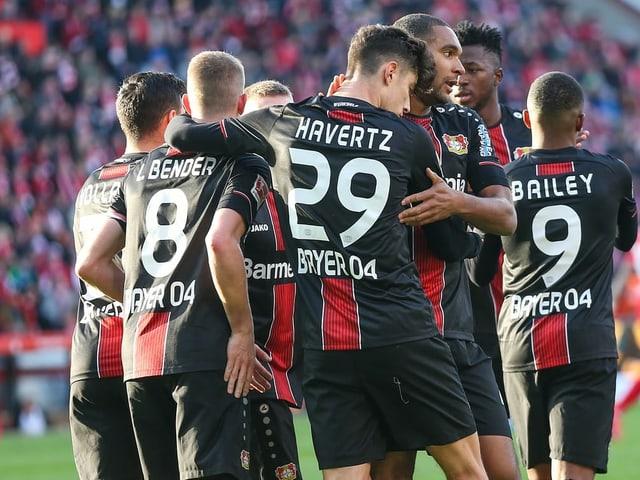 Leverkusen jubelt