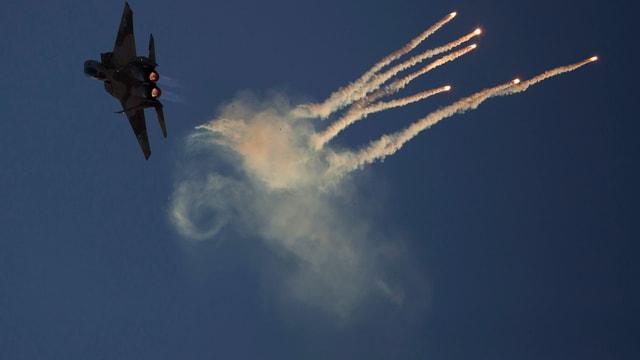 Ein israelischer Kampfjet
