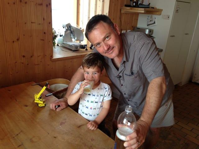 Besuch bei «Kindermädchen» Oliver Bono.