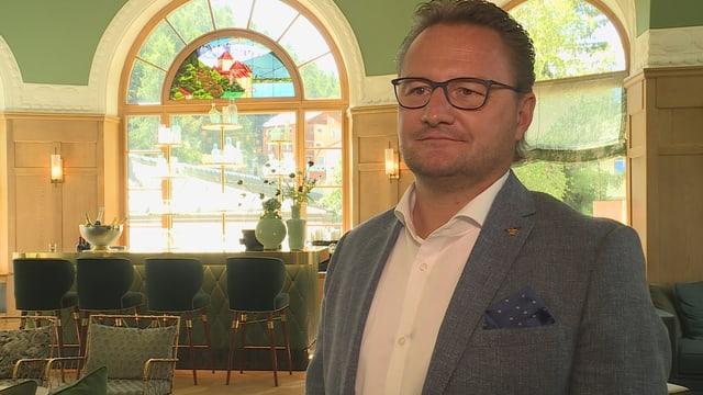 Il directur dal hotel Thomas Walther.
