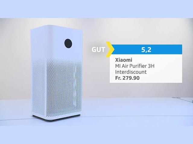 Luftreiniger Xiaomi, Bewertung gut