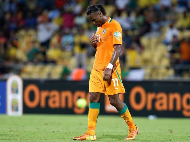 Didier Drogba ist mit der Elefenbeinküste ernneut gescheitert.