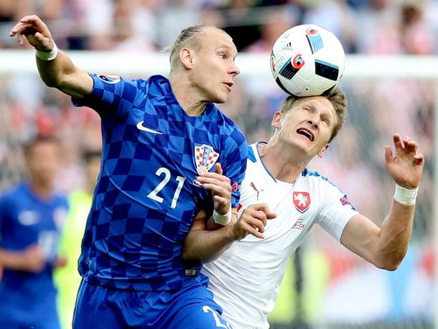 Ni als Croats ni als Tschecs èsi fin la fin reussì da propi gudagnar la partida.