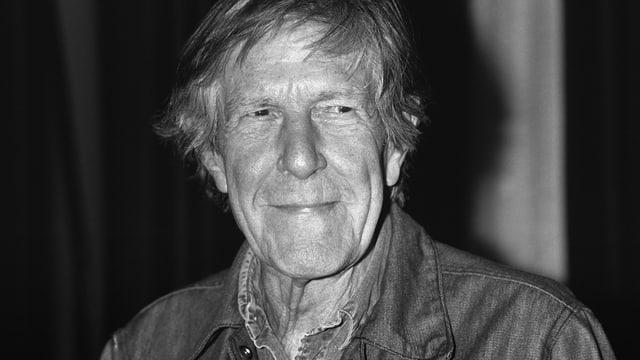 Porträt von John Cage, aufgenommen 1991 an den Junifestwochen in Zürich.