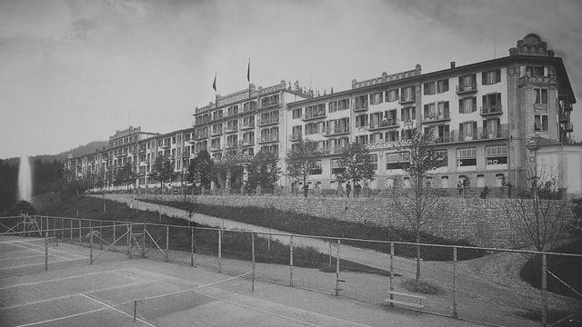 Historisches Bild des Gurnigelbads