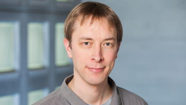 Porträt von Niklas Beisert, Quantenphysiker an der ETH Zürich