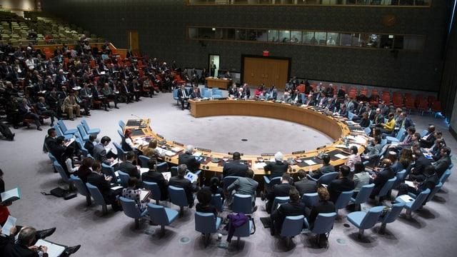 Il cussegl da segirtad da las Naziuns Unidas