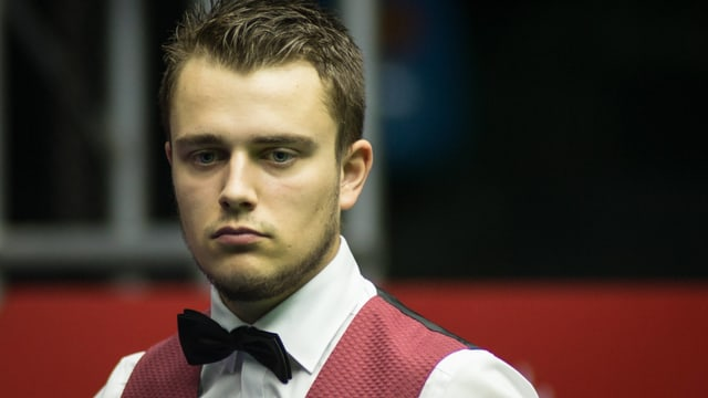 Alexander Ursenbacher an den English Open.