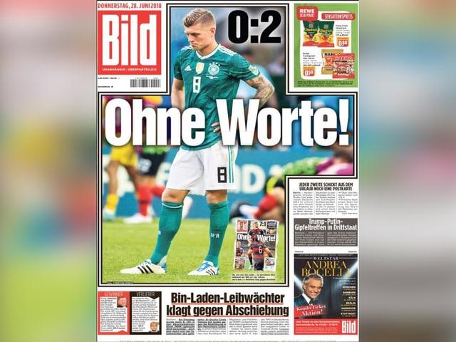Titelseite Bild-Zeitung