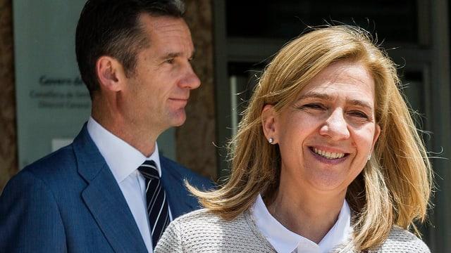Cristina von Spanien und Iñaki Urdangarin.