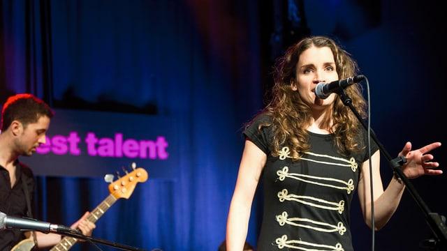 Lina Button bei Radio SRF 3 Best Talent