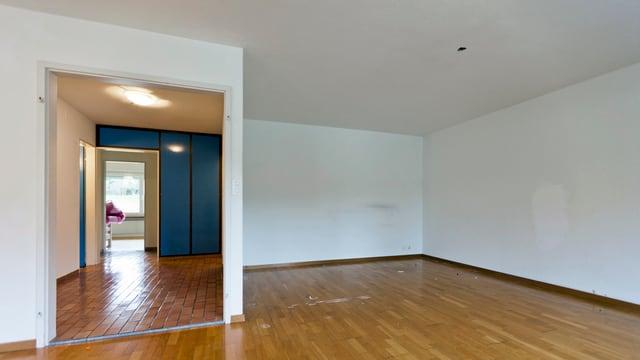 Blick in eine leere Wohnung.