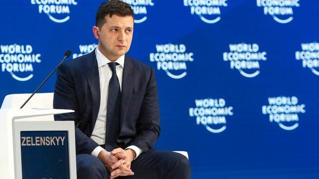 Selenski am WEF