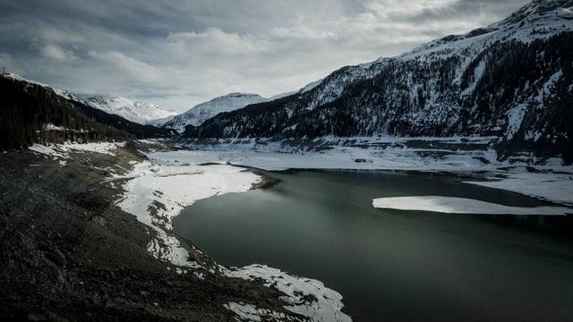 Der Marmorerasee in Graubünden