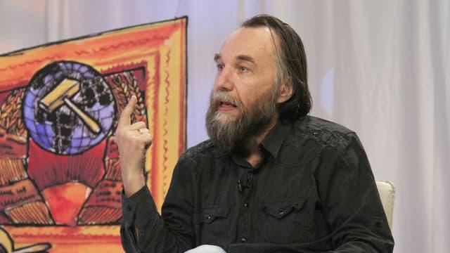 Porträt des politischen Philosophen und Ideologen Alexander Dugin.