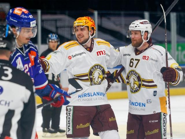 Henrik Tömmernes im Spiel gegen die ZSC Lions.