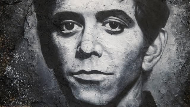 Lou Reed Graffiti.
