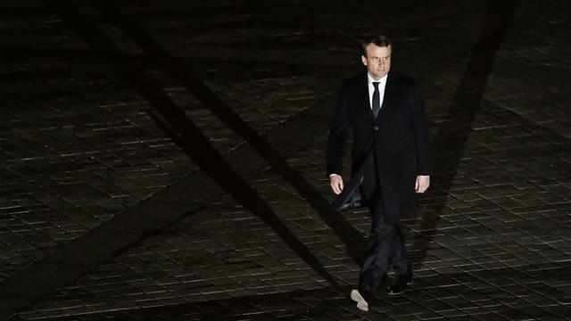 Anc è Emmanuel Macron persul - el sto uss emplenir il nov parlament cun sia glieud.