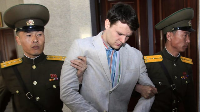 Otto Warmbier in Gewahrsam Nordkoreas.