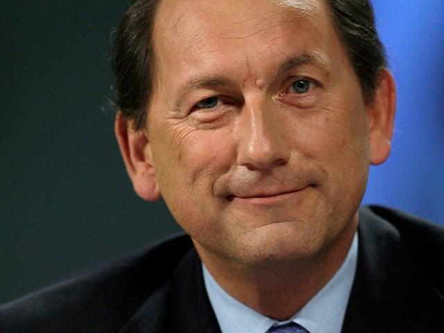 Porträt-Aufnahme von Konzernchef Paul Bulcke
