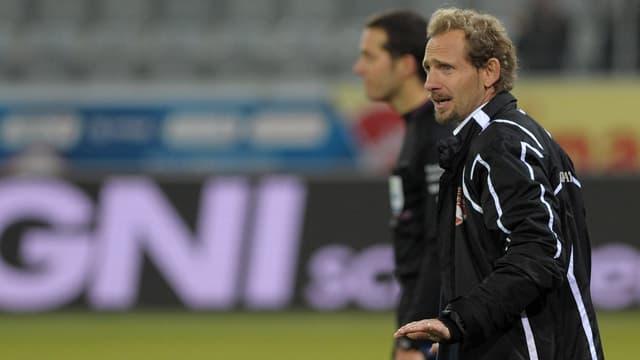 Mauro Lustrinelli trägt beim FC Thun neu die Verantwortung für die 1. Mannschaft.