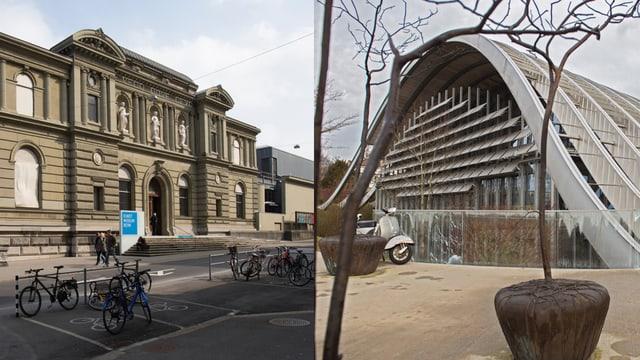 Die beiden Gebäude