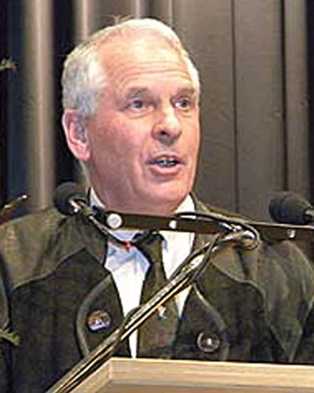 Heinrich Erhard ist Direktor des Amts für Jagd und Fischerei der Autonomen Provinz Bozen, Südtirol