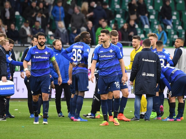 Darmstadt 98 aus der Bundesliga