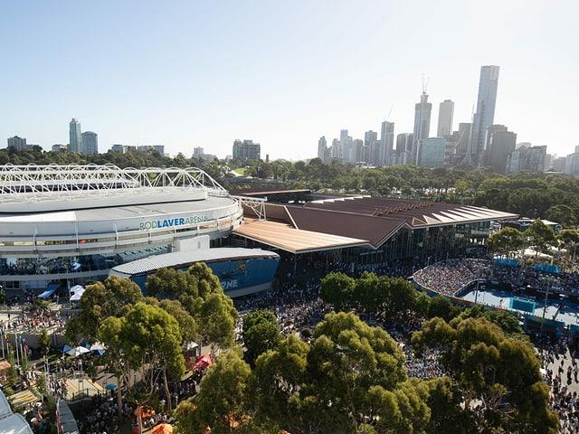 Anlage der Australian Open