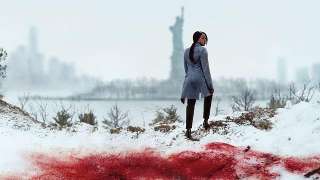 Im Rücken der Freiheitsstatue: Starke Bilder von Jersey City in «Seven Seconds».