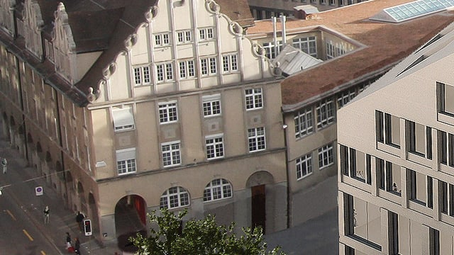 Altstadthaus in Winterthur