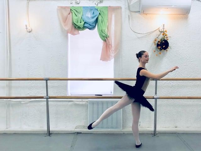 La saltunza da ballet Olga Silevanonva